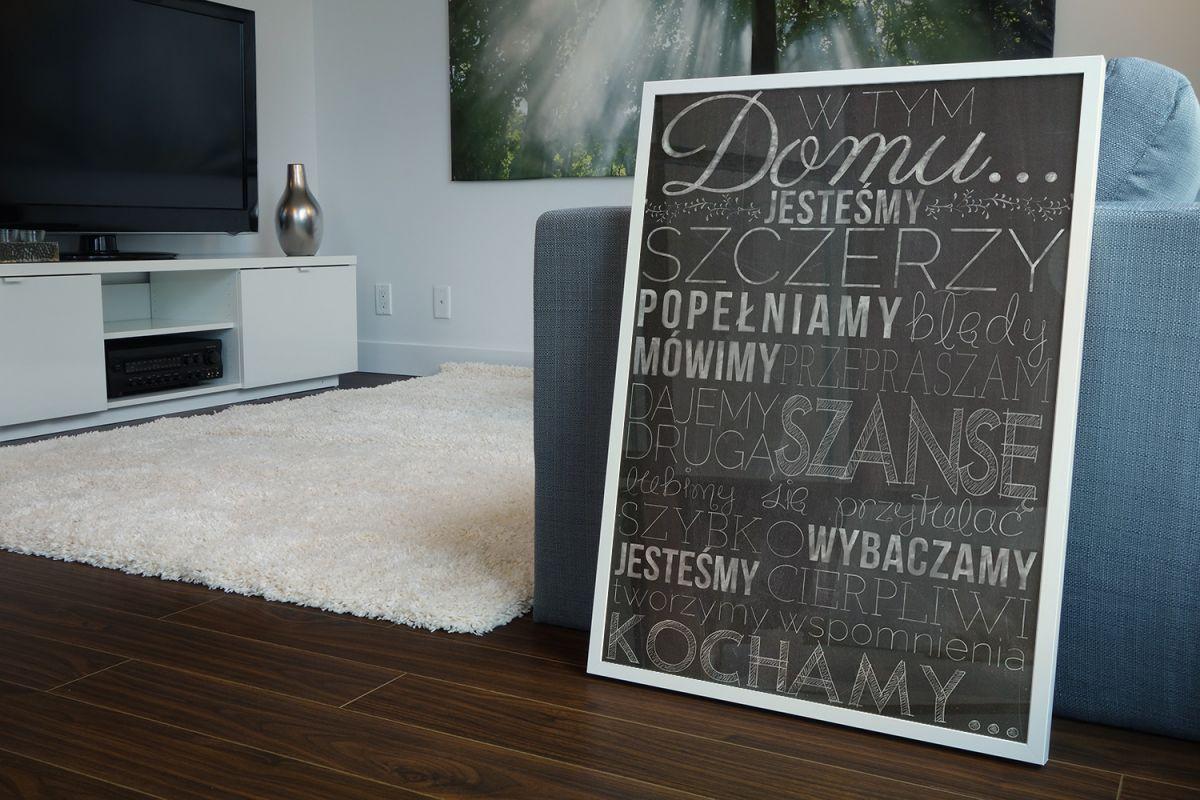Plakat W tym domu - Zasady