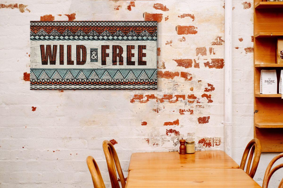 Obraz na płótnie Wild and Free
