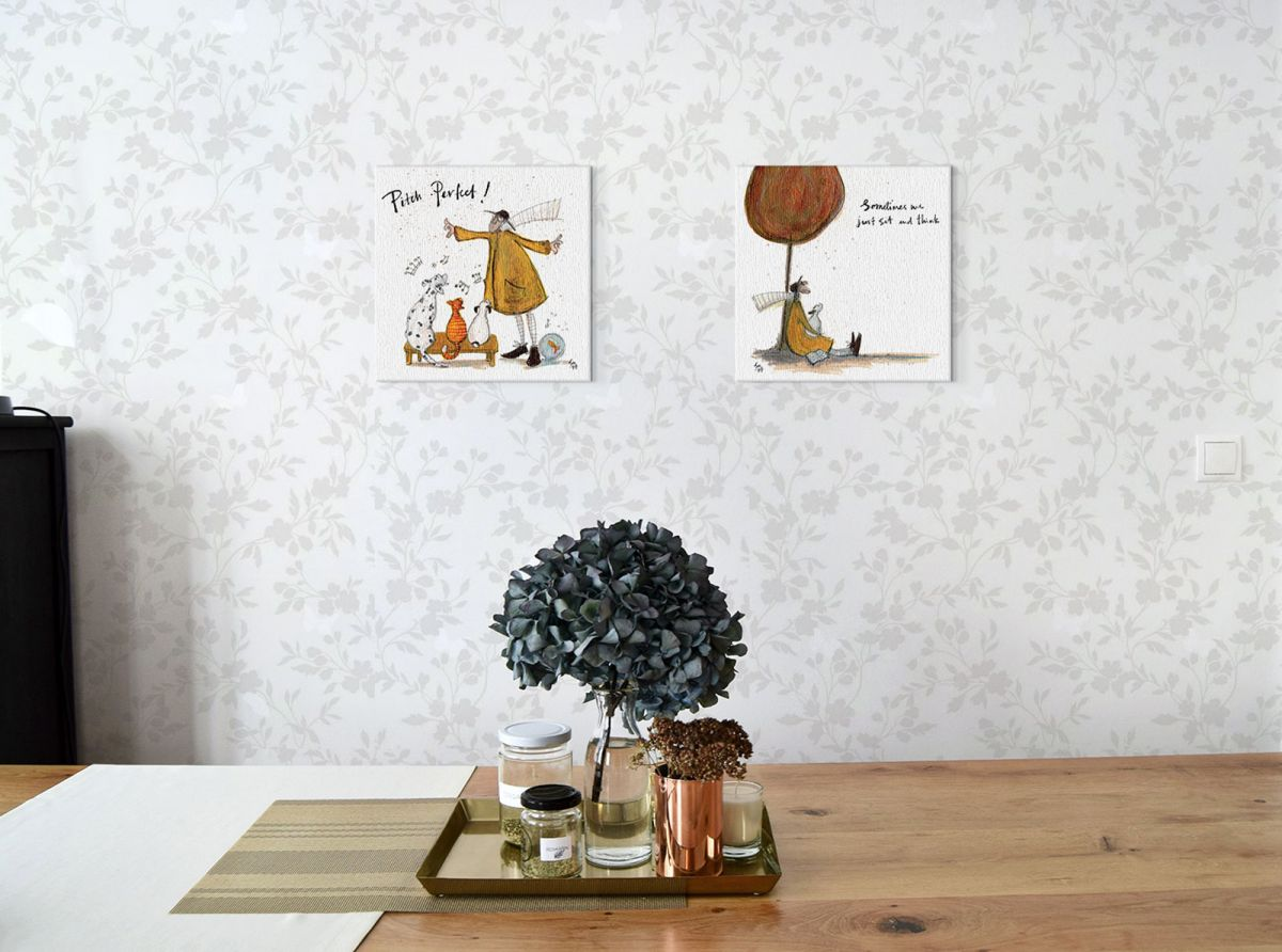 Canvas Sam Toft Sometimes We Just Sit And Think