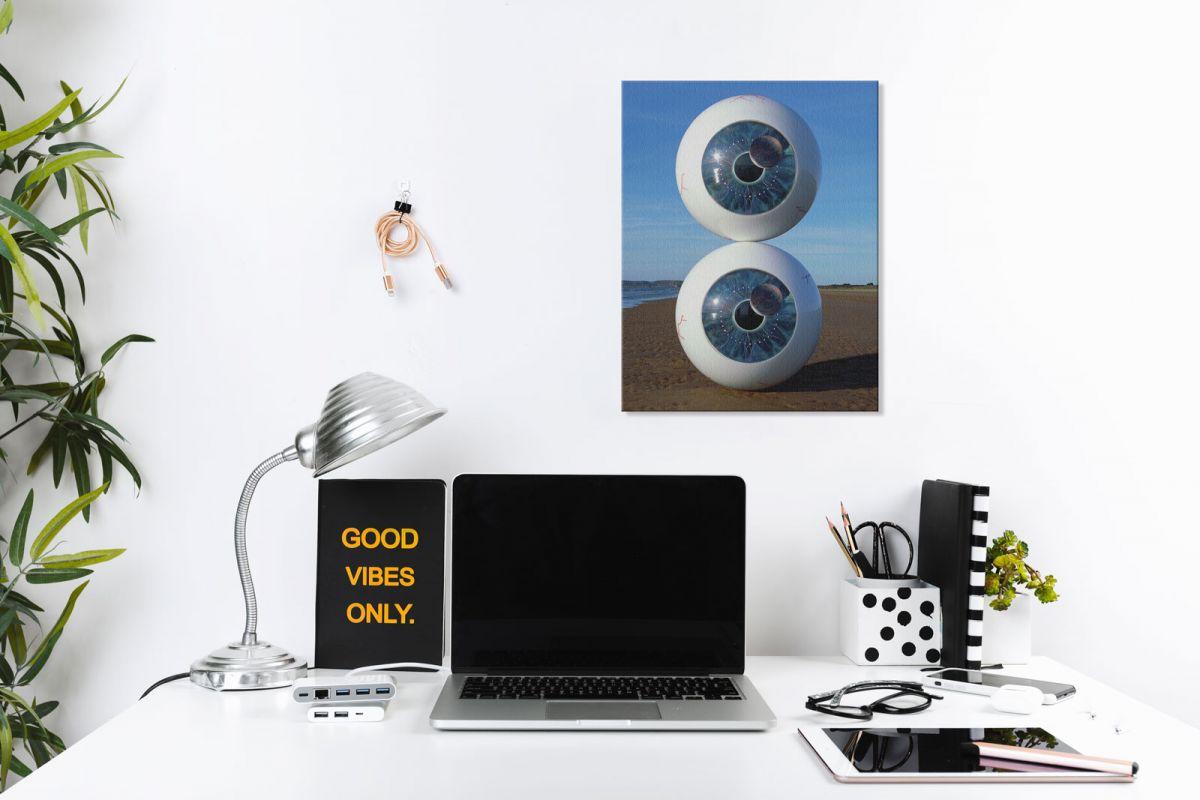 Obraz z okładką albumu zespołu Pink Floyd