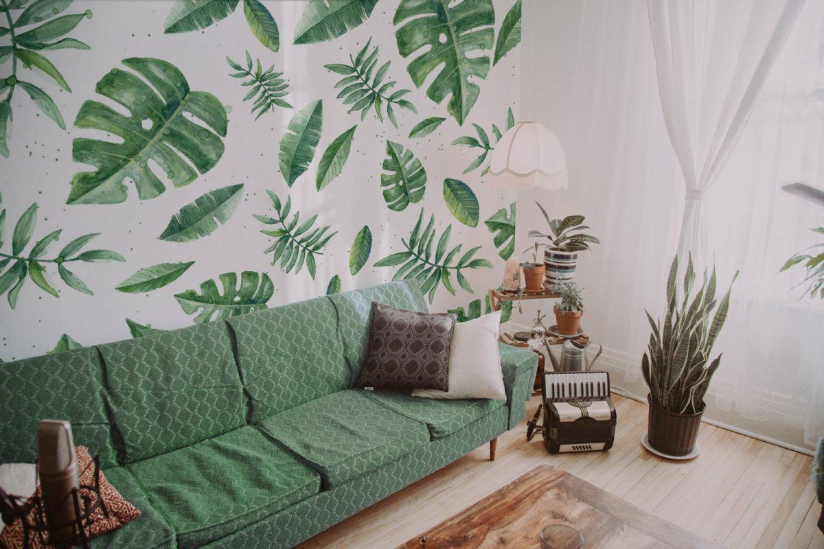 Fototapeta botaniczna Tropikalne liście