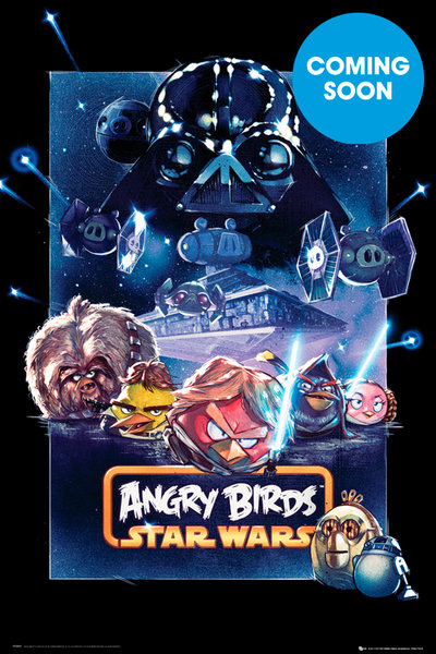 plakat Angry Birds Star Wars