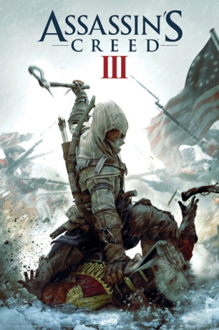 Assassins Creed III Cover - plakat
