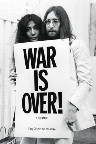 John Lennon (War Is Over) - plakat