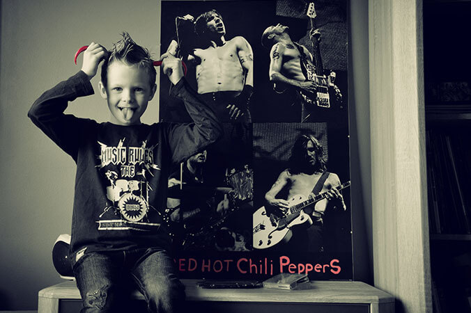 Plakat zespołu Red Hot Chilli Peppers